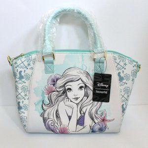 Loungefly The Little Mermaid Ariel Watercolor Bag